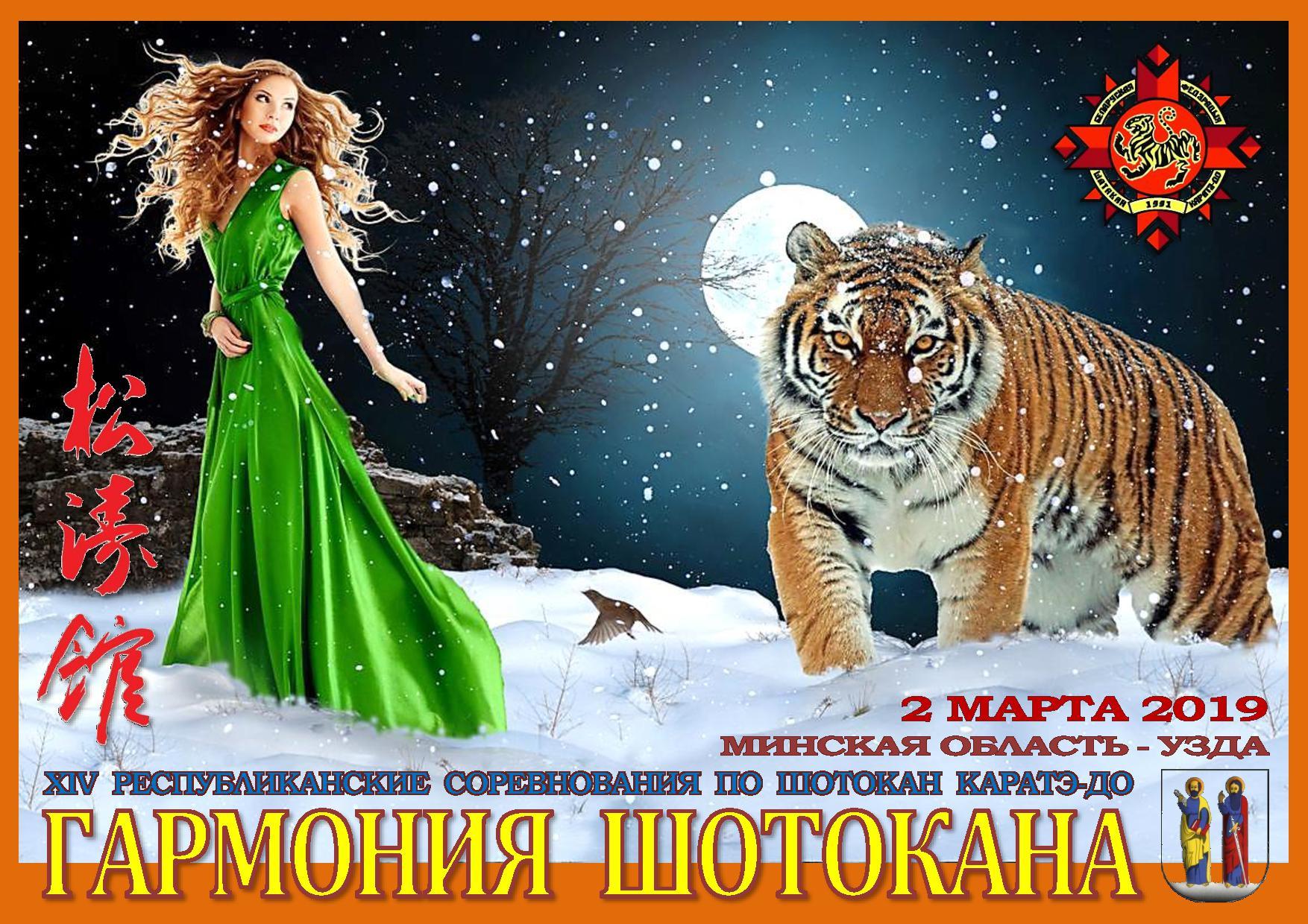 Минская область, Узда, 2 марта 2019 года, Гармония шотокана-2019