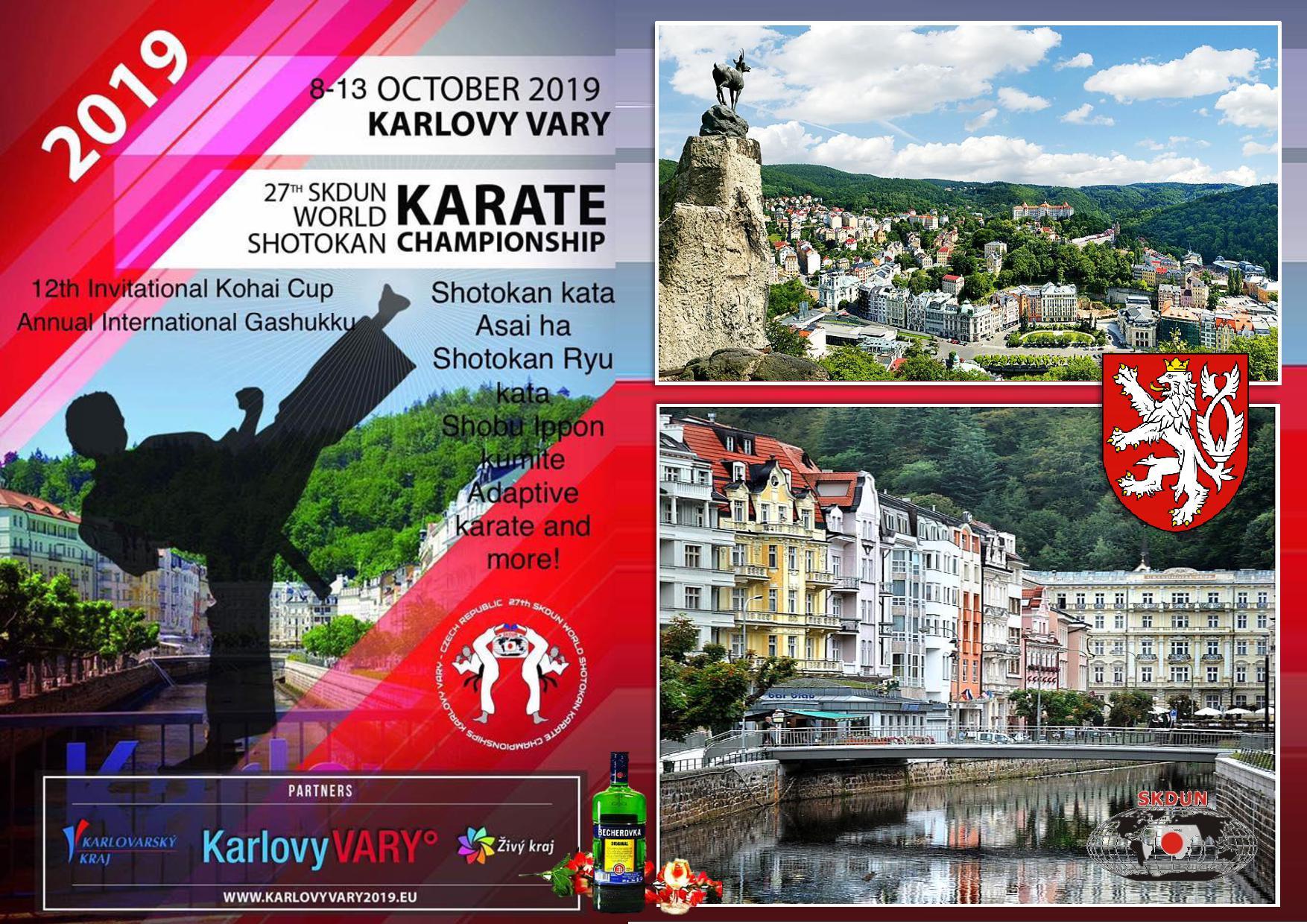 10-14 октября 2019 года, Карловы Вары, Чехия