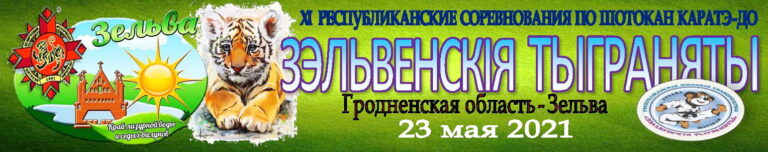23 мая 2021 года, Зельва, республиканские соревнования по шотокан каратэ-до «Зэльвенскiя тыграняты-2021»